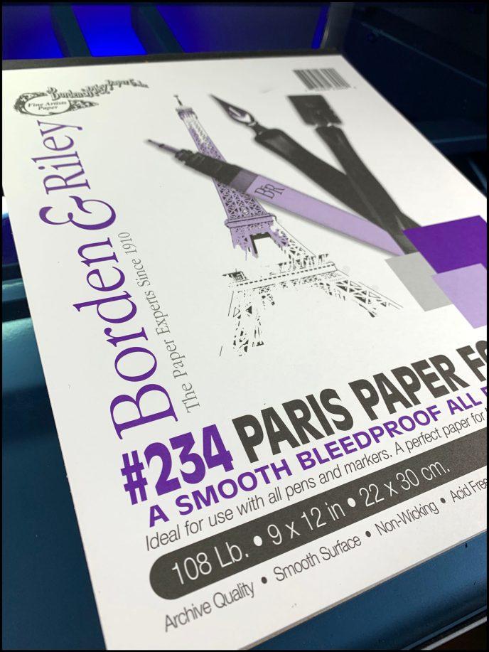 Borden & Riley #234 Paris Paper for Pens