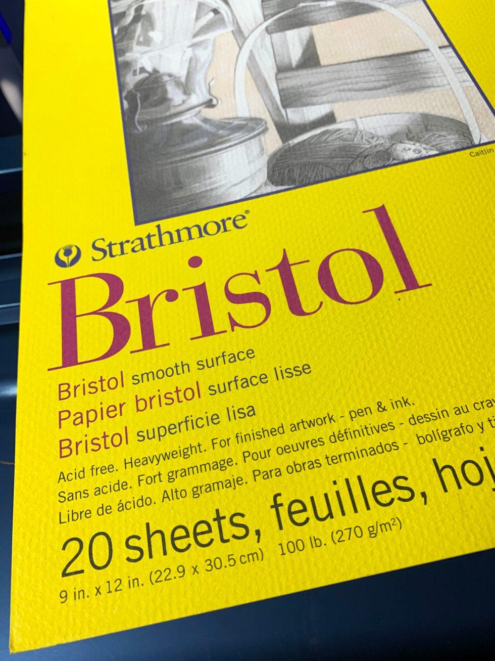 Strathmore Bristol Paper 300 series image 3