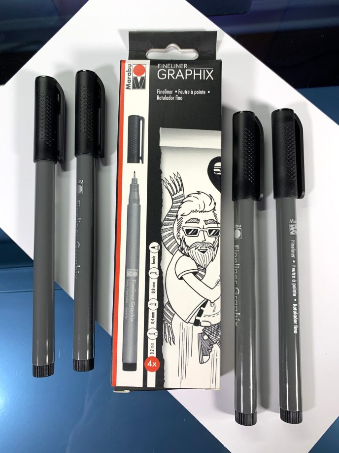 Marabu Fineliner Graphix Pens image 2