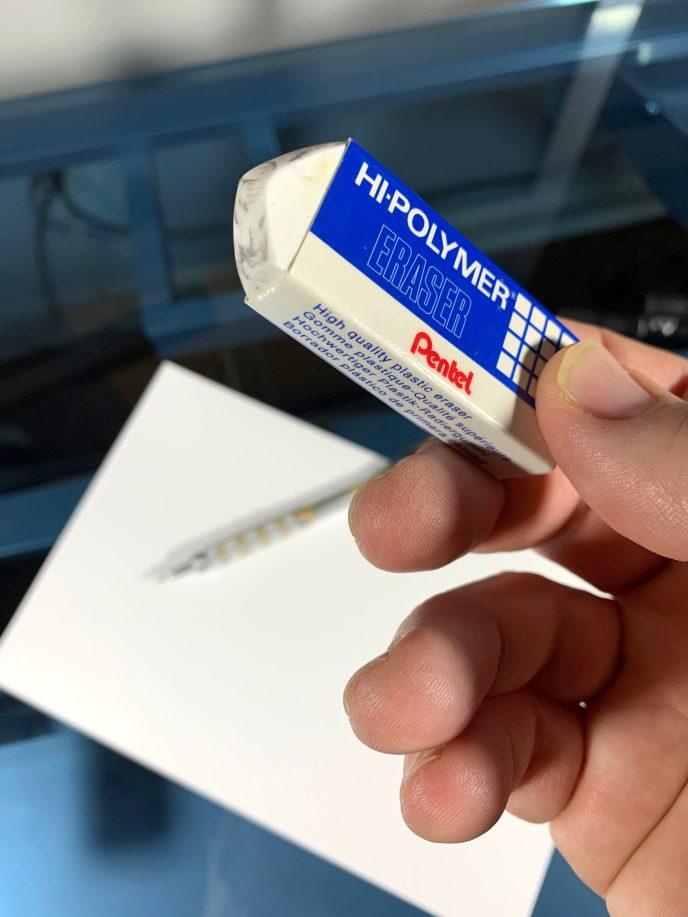 Pentel Hi-Polymer Eraser image 4
