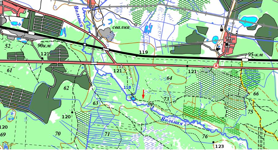 карта слета