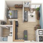 Floor Plan Bird View