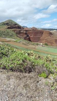 Vista de la extracción