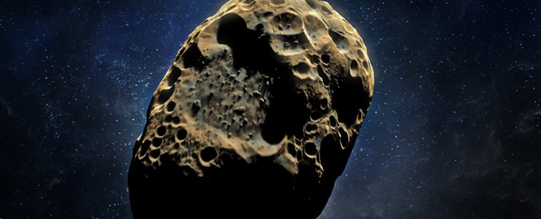 Mining an asteroid Sic Semper Tyrannis