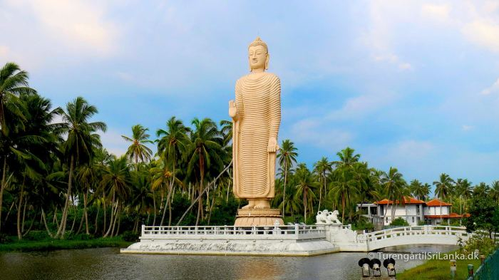 Buddha tsunami memorial Hikkaduwa