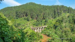 Nine Arch Bridge i Ella, er bygget uden brug af et eneste stykke stål