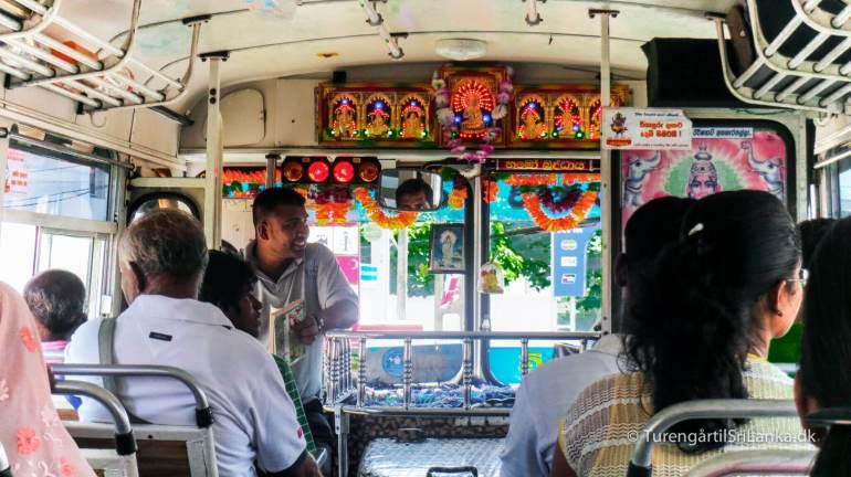 Sri Lanka transport bus