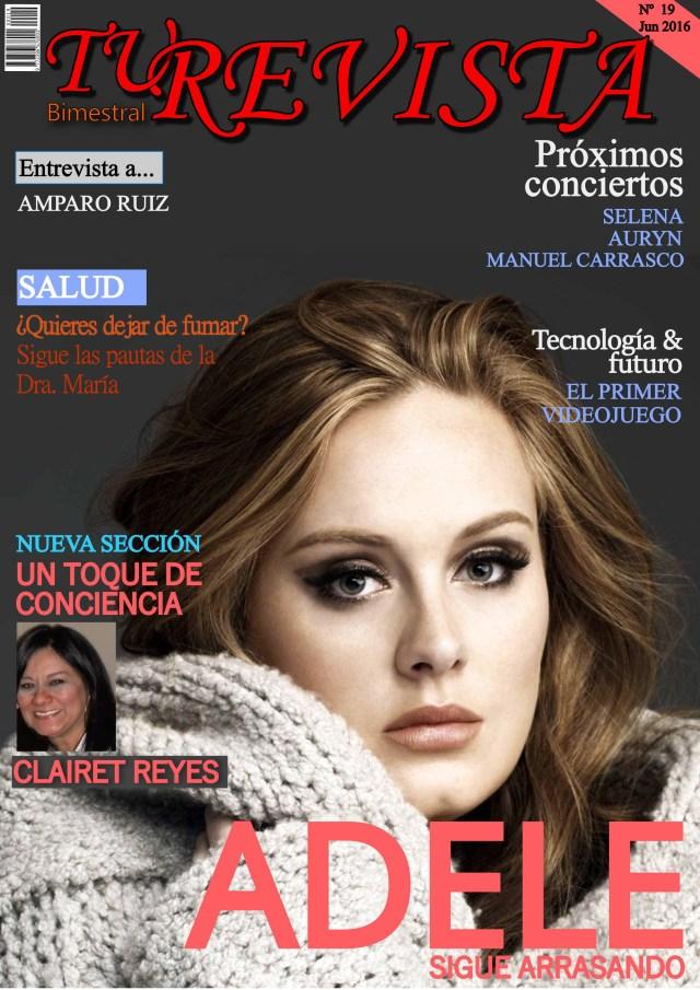 Os presentamos a Adele, su impresionante voz nos sigue deslumbrando a todos.