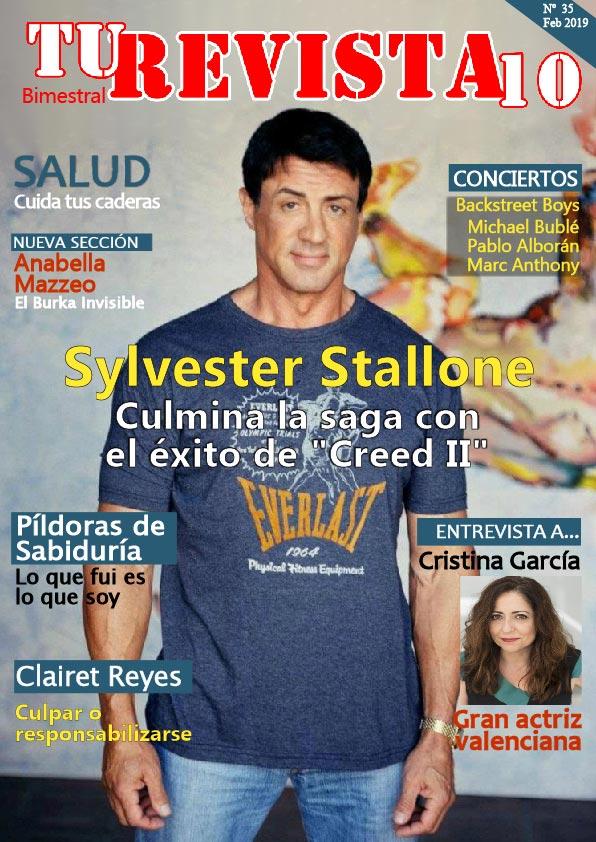 "Silvester Stallone culmina la saga con el éxito de ""Creed II"""