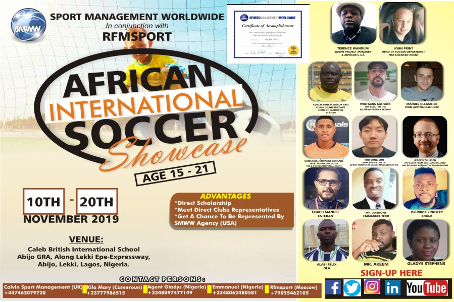 african international showcase