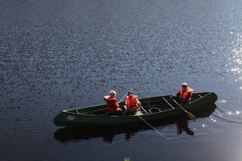 De første fiskene er fanget før klokken er 11 på søndags morgen