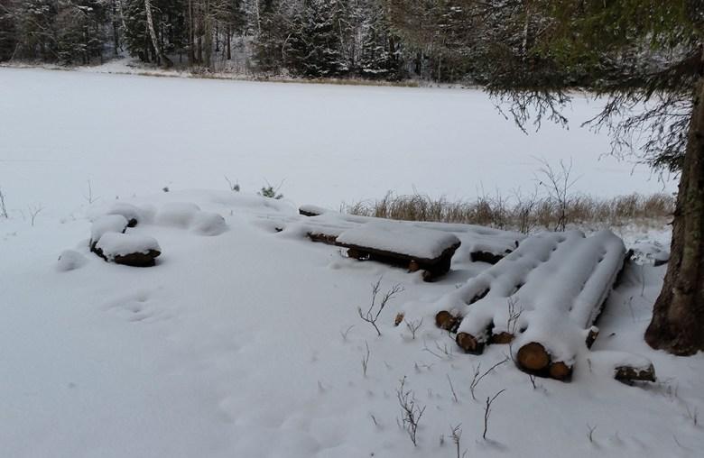 Tenk at det bare er et par uker siden vi var her med kano