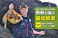 アオリイカのヤエン釣り。串本大島で大爆釣!。関西のつり