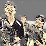 落とし込み釣り朝練2連チャンで分かった事は、条件さえ揃えば釣れるって事だわさ