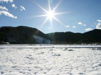 2015年桂沢湖のワカサギ釣りが解禁です!