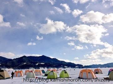 糠平湖でもワカサギ解禁!2016年は好期待!!