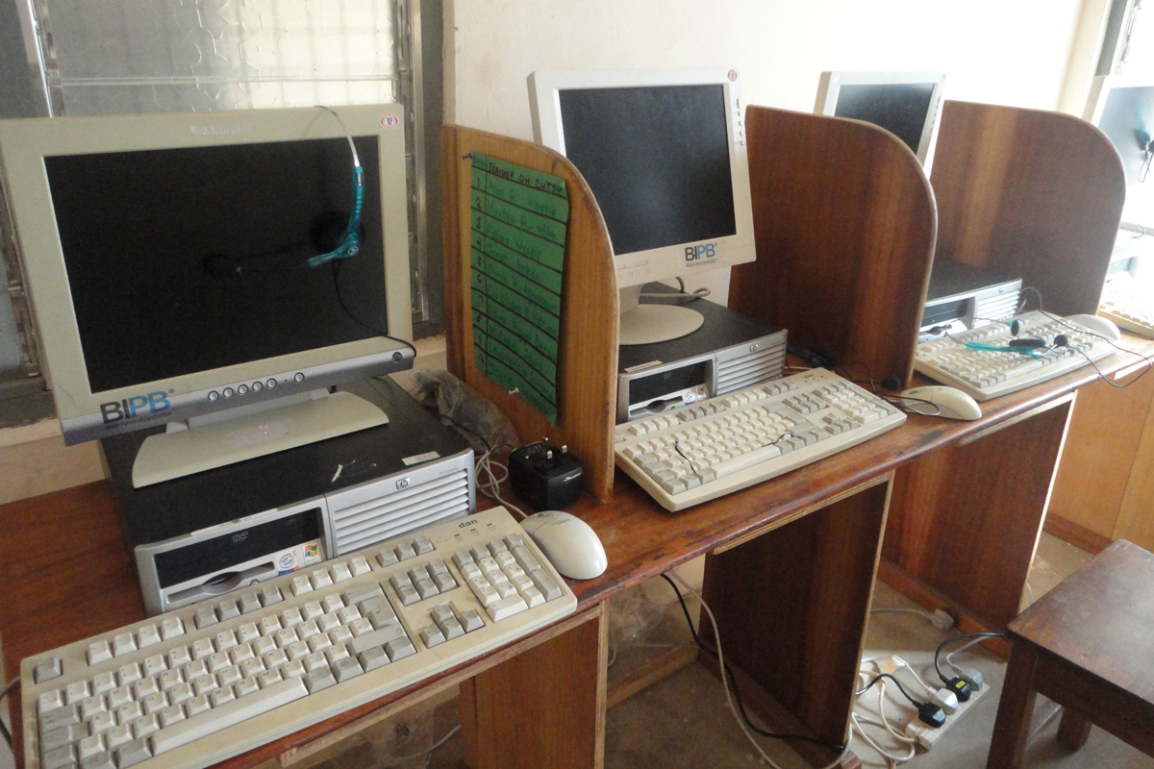 Our computers are making their way into different parts of Ghana