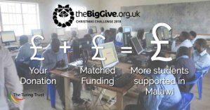 The Big Give Christmas 2018 Logo.