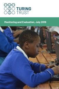 Cover of M&E report 2019