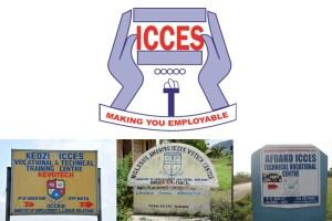 ICCES logos, Ghana