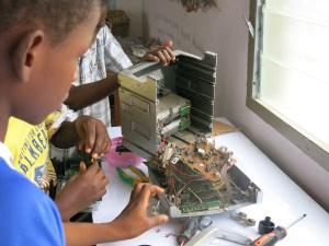Learning to repair computers at Lightyear Foundation