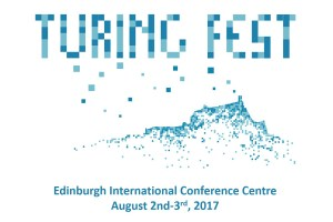 Turing Fest logo and advert 2017