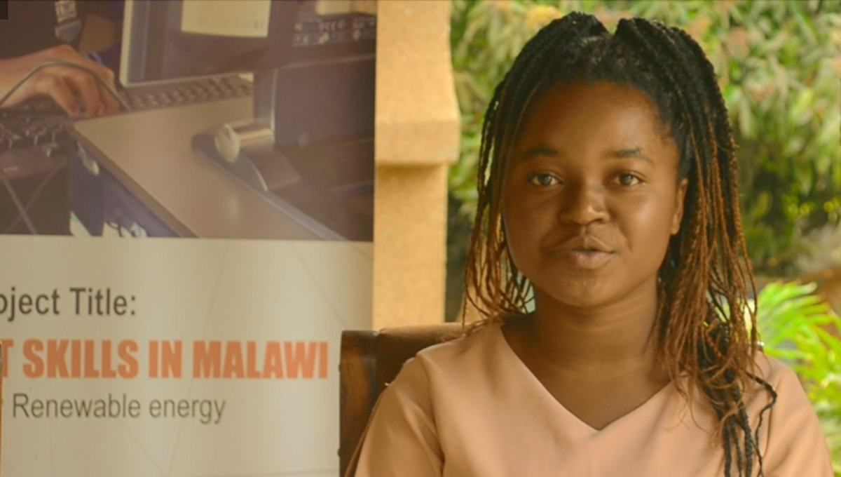 Elness tells us the power of girls studying ICT in Malawi