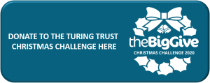 Donation button for the Christmas Challenge