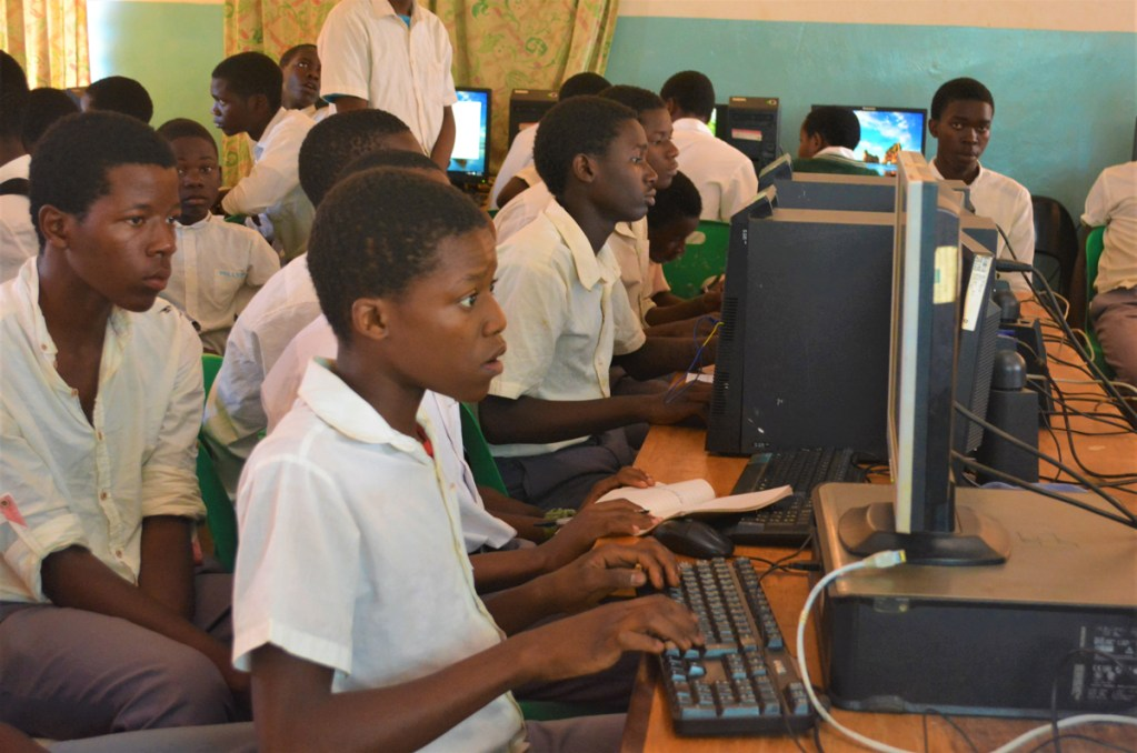 Codeclub at Robert Laws Secondary School, Malawi