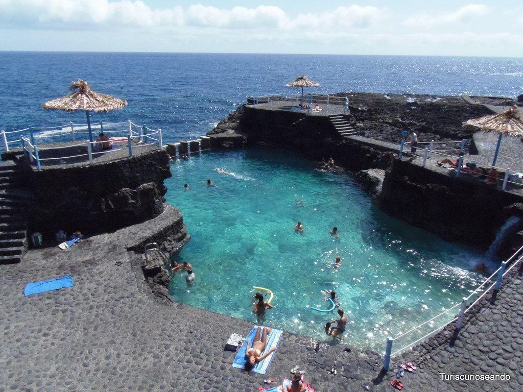 La palma charco azul piscinas naturales dignas de galard n for Piscinas naturales y charcos en tenerife