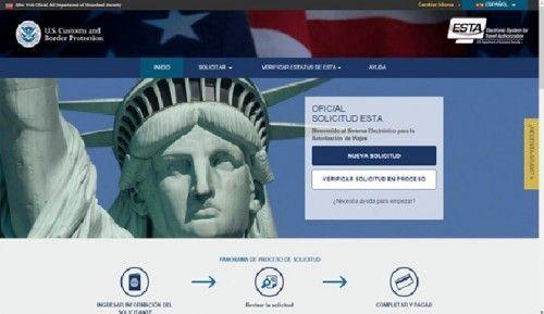Pasos para rellenar el ESTA antes de viajar a Estados Unidos