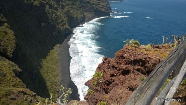 La Palma. Playa Nogales. 10 playas de Canarias