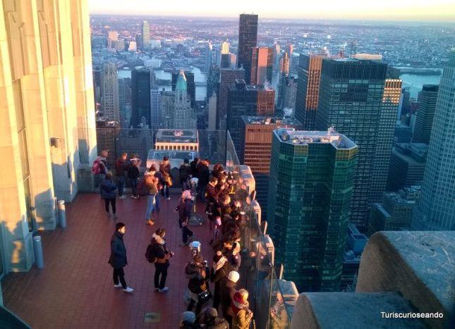 Nueva York y el Observatorio Top of The Rock