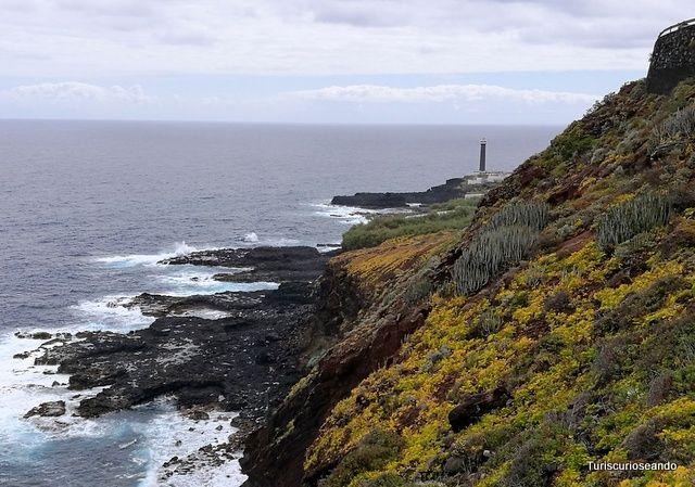Turiscurioseando: Faro de Punta Cumplida y piscinas de La Fajana