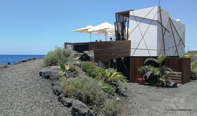 Kiosco 7 islas. El Remo. La Palma (Canarias)