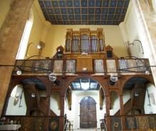 Biserica reformata Dej interior