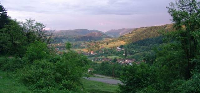 Zona Bratca şi platoul Damiş