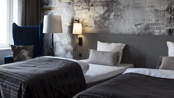 Hotel Scandic i Odense gennemgår fra december 2016 til sommeren 2017 en gennemgribende renovering. (PR-foto: Scandic)