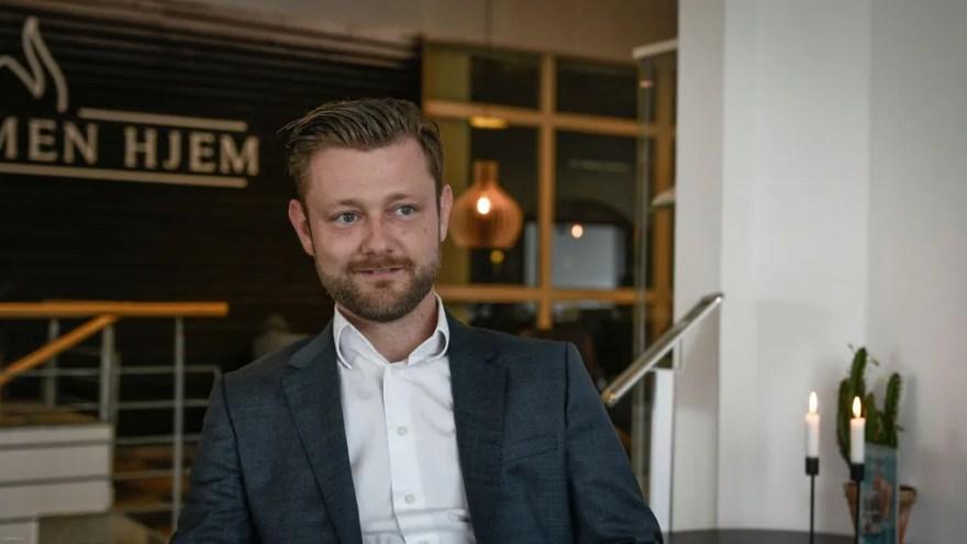 Brian Fabricius, Hotel Viking i Sæby (Foto: Lars Bo Axelholm)