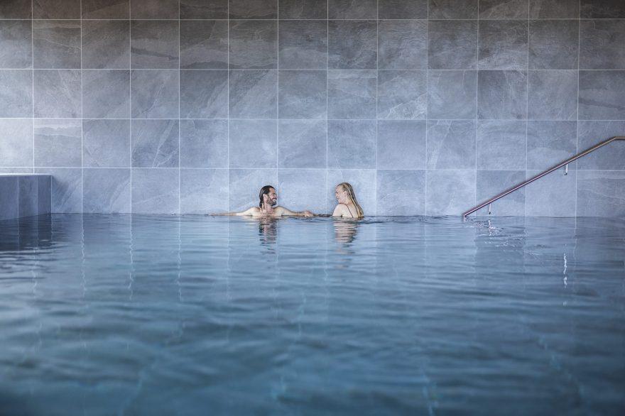 Fjordgaarden Kurbad, Hotel og Konference i Ringkøbing har for få måneder siden indviet et spritnyt kurbad. Men hvordan tiltrækker man gæster i en corona-tid? (PR-foto: Jesper Rais/Fjordgaarden)