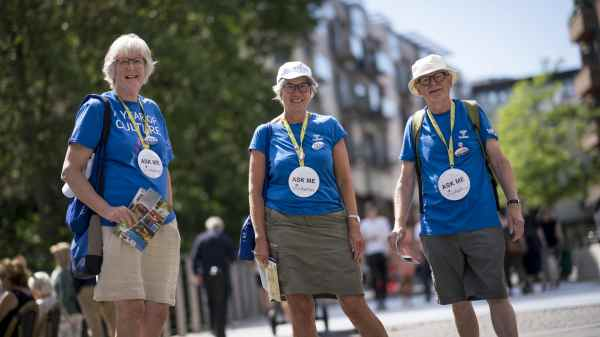 VisitAarhus har etableret et helt korps af frivillige, de såkaldte ReThinkers. (Foto VisitAarhus)
