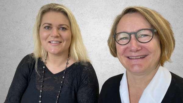 Chefkonsulent Anja Svenstrup og Lektor Elisabeth Agerbæk, UCL.