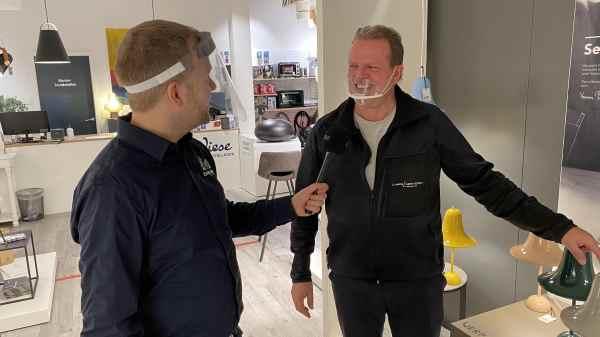 Direkte shopping-tv på Facebook har været en succes i Ringkøbing. (PR-foto)