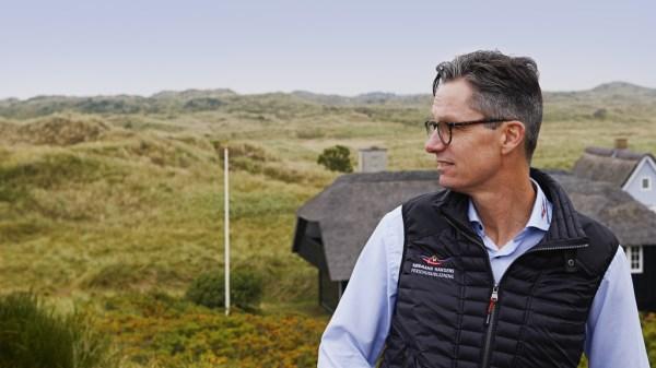 Bureauchef Lars Ravnholt fra Købmand Hansens Ferieudlejning