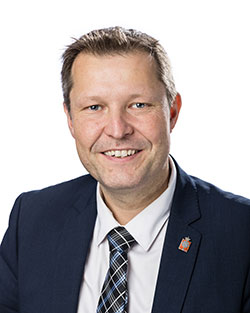 Kenneth Muhs (V), borgmester, Nyborg Kommune.