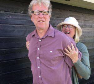 Per Bjerre og hans hustru Birgit, står bag den nye bytteportal bytsommerhus.dk (Pr-foto)