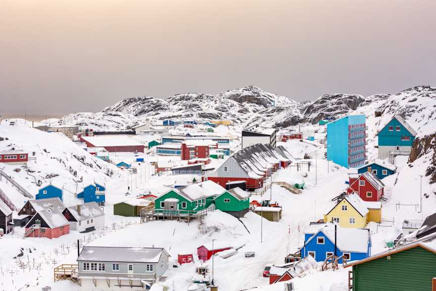 Maniitsoq, Grønland. (Foto: Visit Greenland)