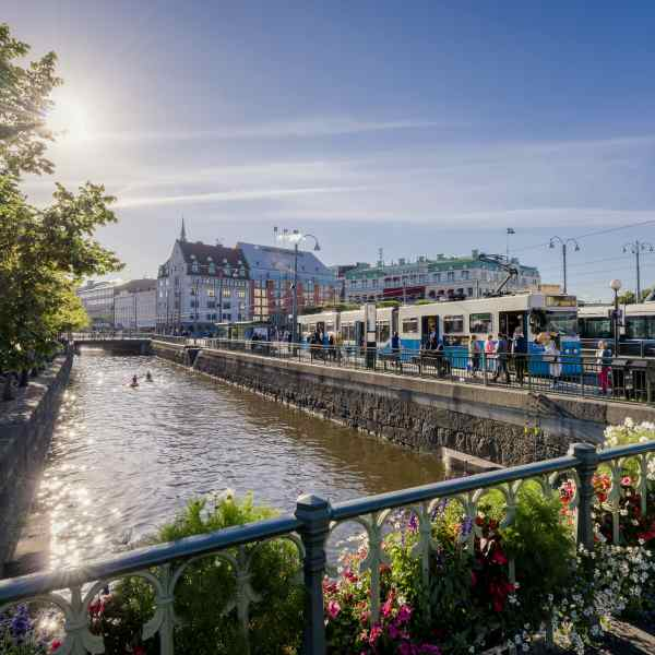 Kanalen Drottningtorget (Foto: Anders Wester/Gøteborg & Co)