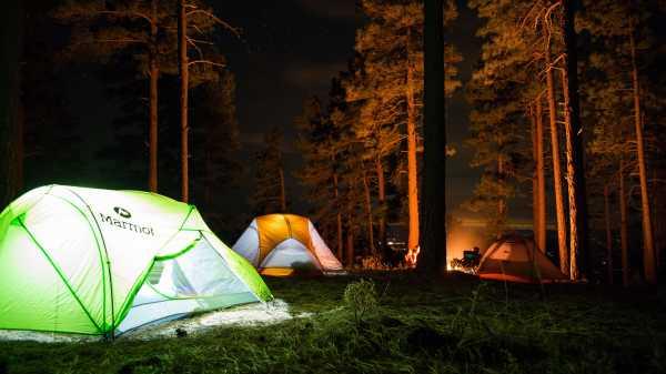 Camping - arkivfoto: Tommy Lisbin