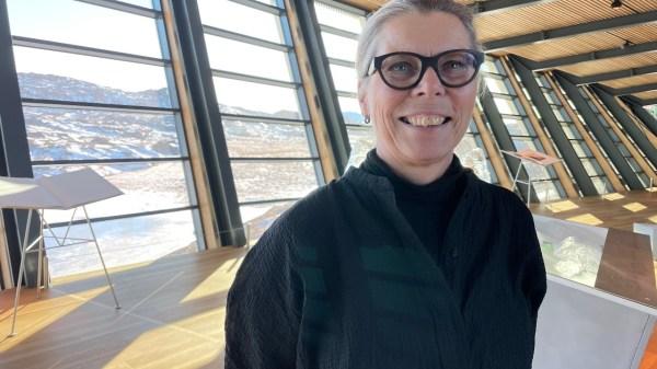 Elisabeth Momme, leder af Isfjordscenteret Ilulissat. (Foto: Mikkel Noa Klein)